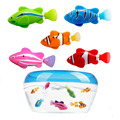 5 шт./компл. робот электронный рыба игрушка для плавания Батарея в комплекте робот Pet для детская игрушка для ванной Рыбалка украшения действ...