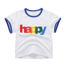 Babyinstar/Детские футболки для девочек, костюм топы для девочек на день рождения, детская одежда футболка для мальчиков брендовая рубашка на День Благодарения для девочек