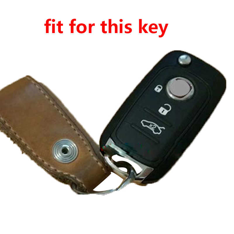 Voor Fiat Egea Key Cover Voor Fiat Toro 500X Egea Tipo Silicagel Flip Key Case Voor Auto Vouwen Protector voor Dodge Neon Key Case