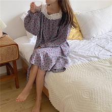 Xifer одежда для сна из чистого хлопка корейский женский осенний
