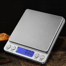3000g/0.1g 500/0.01g New Portable Mini Electronic Digital Kitchen Scales Pocket Case Postal Kitchen Jewelry Grams Weight Balance portable mini electronic balance 200g 0 01g gold jewelry pocket postal kitchen jewelry weight balance digital scale