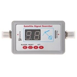 Image 2 - هوائي التلفزيون الرقمي إشارة الأقمار الصناعية مكتشف متر الباحث شاشة LCD SF 95DL