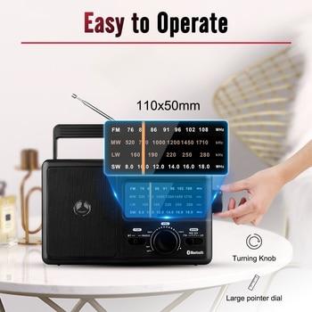 Радиоприемник RETEKESS TR626 AM/FM/SW/LW Bluetooth 5