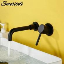 Umywalka do łazienki bateria umywalkowa bateria łazienkowa do montażu ściennego mosiądz matowy czarny z pojedynczym uchwytem gorąca zimna woda biała róża złoty zestaw