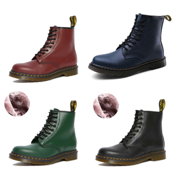 Dr Martens 1460 Martin Boots Men's and women's Shoes Leather Ankle Boots Plush Warm Motorcycle Boots