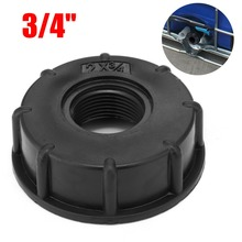 3/4 Inch IBC Hose Adapter Reducer Connector Water Tank Fitting S60x6 (60mm) Coarse Thread Durable Garden Hose Pipe 8pc 1 2 3 4 1inch thread adapter garden water connector pvc hose garden hose connector water tank aquarium fish tank accessories