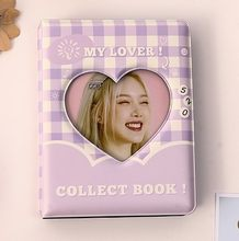 Customized cover 3 inch album star photo album small card star chaser girl storage album