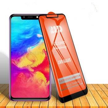 Перейти на Алиэкспресс и купить 21D сотовый телефон Закаленное стекло пленка полный закругленный протектор экрана для TECNO spark 4/Infinix Горячая 7X626