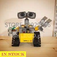 In Stock 16003 WALL-E Ideas Technic Robot 21303 Toys Model Building Bricks Blocks Educational Birthday Gifts Oscar Movie Series