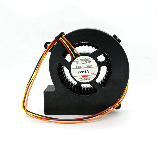 Yeni orijinal CE 7020L 01 DC12V 250mA için CU600X CU600W CU610X CU610W projektör soğutma fanı