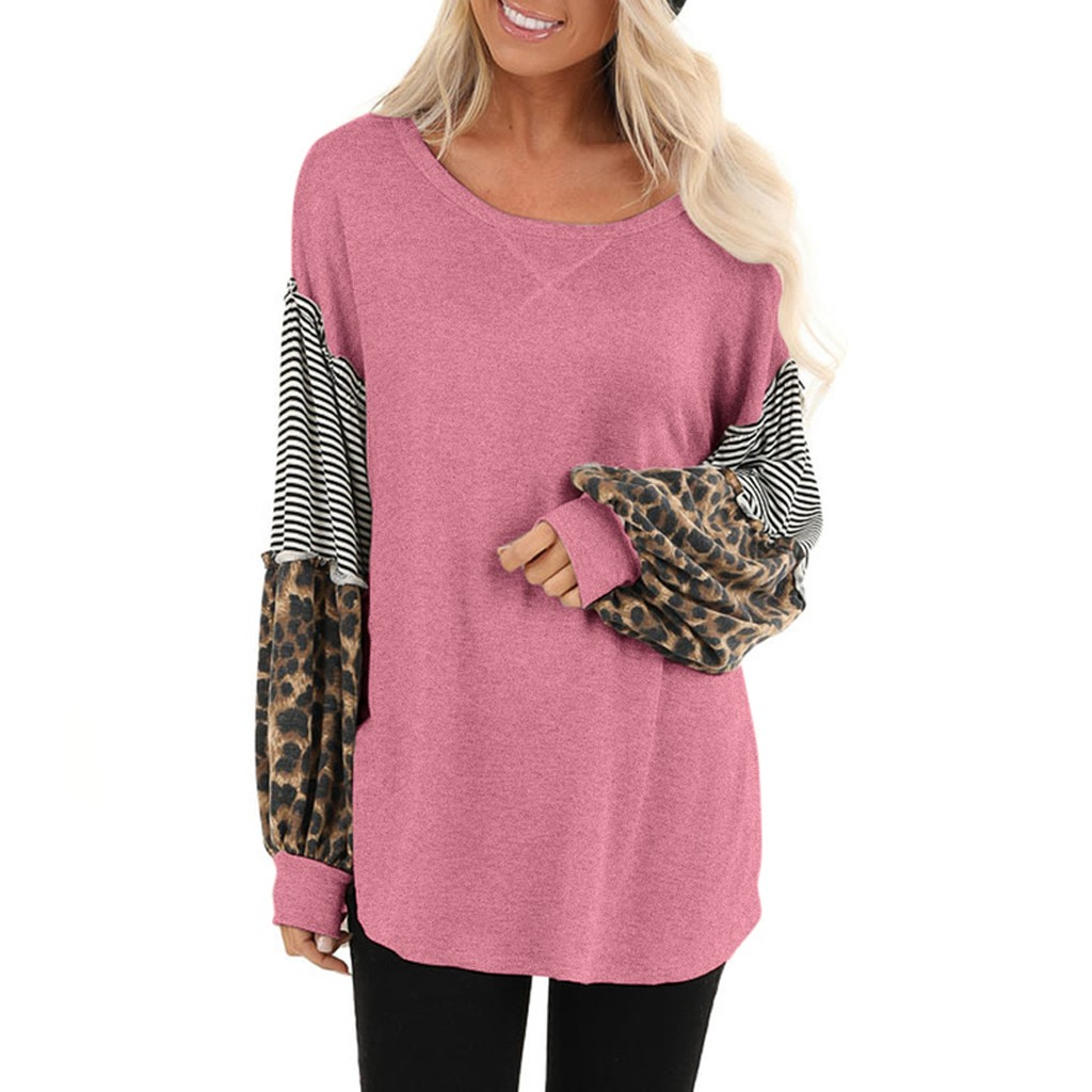 Womens Tunics Long Sleeve Hessimy Womens Sweatshirts Long Sleeve Pullover Tshirt Pockets Casual Loose Blouse Tops