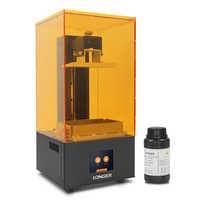 LONGER Orange10 3D Printer Affordable SLA 3D Printer Smart Support Fast Slicing UV Light Curing Easy Operate Entry Level