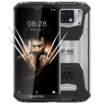 "OUKITEL WP6 10000mAh 6GB RAM 128GB ROM 6.3"" shockproof Mobile Phone MT6771T Octa Core 4G Rugged Smartphone 48MP Triple Camera"