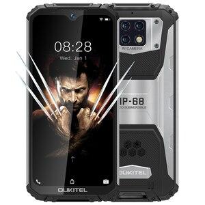 OUKITEL WP6 смартфон с 6,3-дюймовым дисплеем, восьмиядерным процессором MT6771T, ОЗУ 6 ГБ, ПЗУ 128 ГБ, 48 МП, 10000 мАч