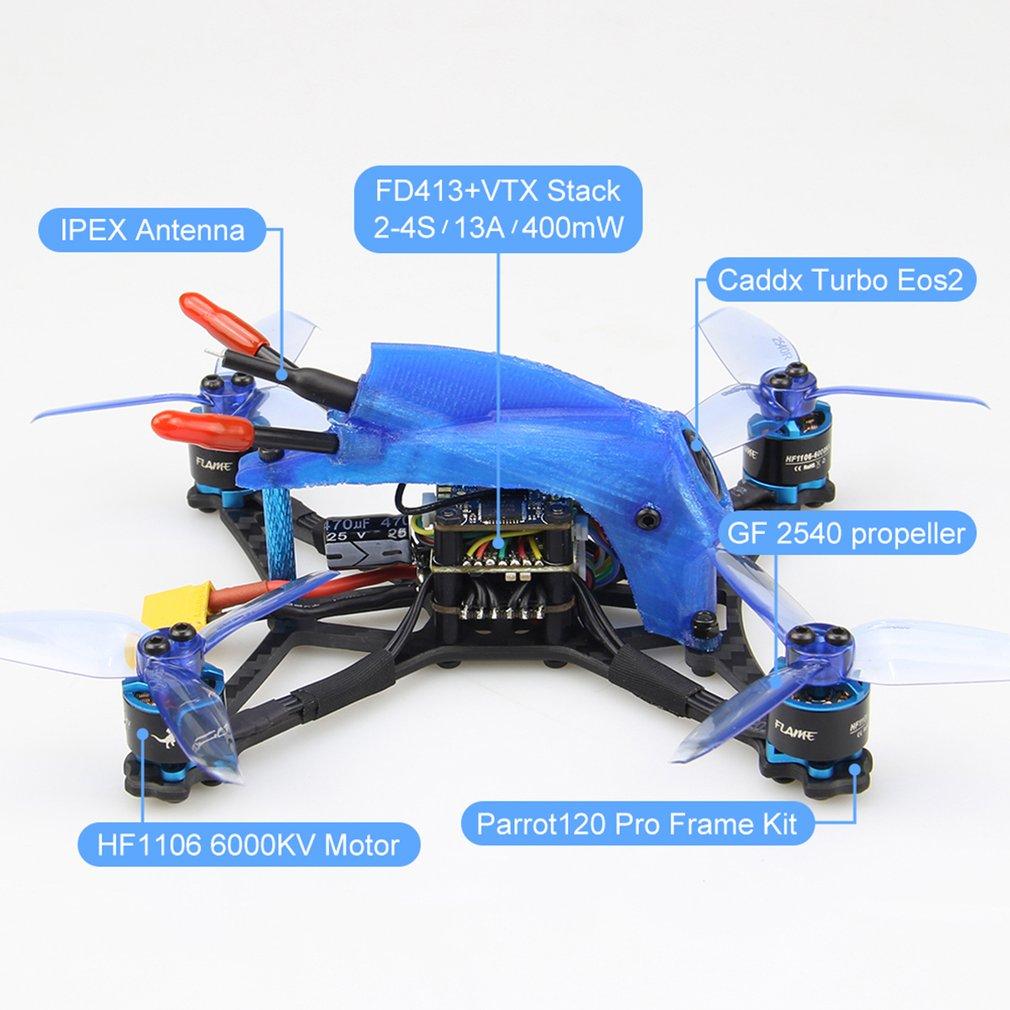 ESC Racing PNP mondadientes 4 5 Motor 1 FPV escobillas con Micro pila Pro 2 en Drone 6000KV sin FD13A pulgadas VTX yvNwm8n0O