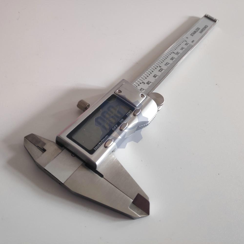150 мм цифровые Штангенциркули нержавеющая сталь электронный цифровой штангенциркуль металлический микрометр измерительный инструмент - Цвет: digital calipers