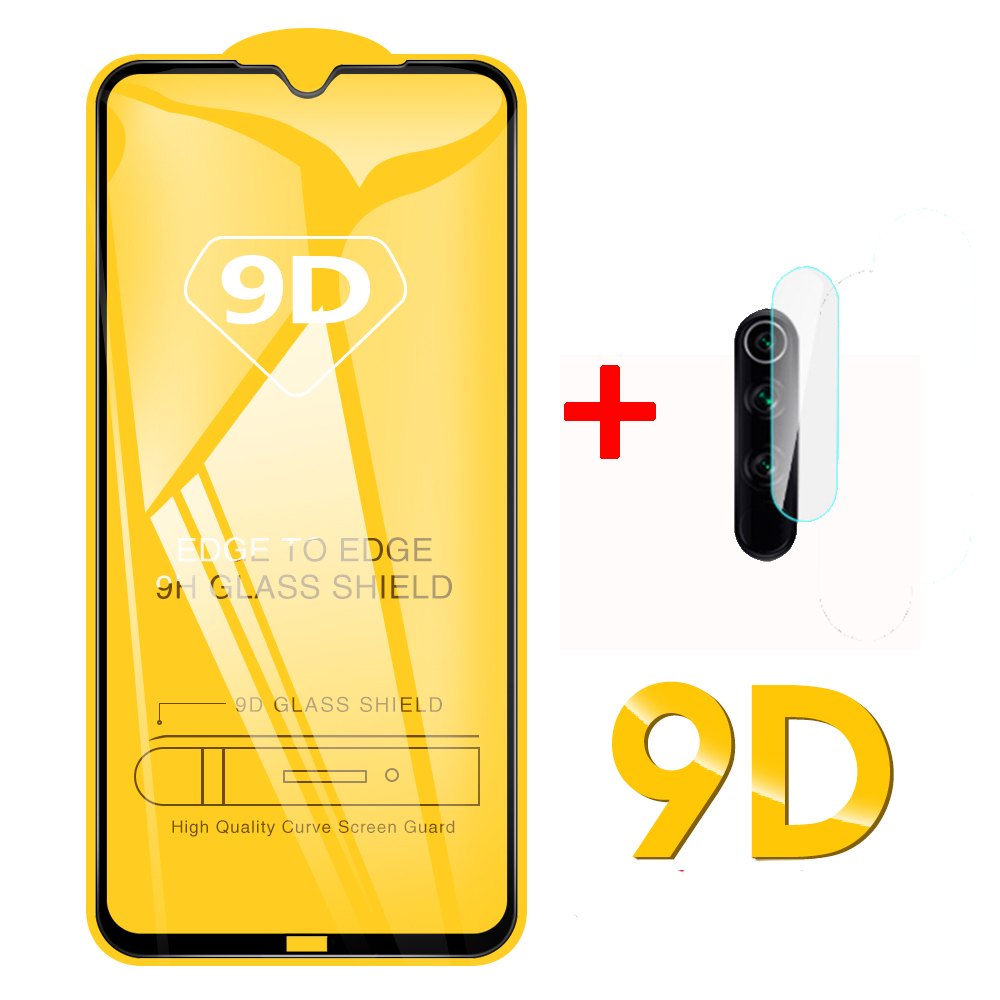 Tempered Glass For Xiaomi Redmi Note 8 Pro Camera Protective Glass On For Xiomi Redmi Note 8 Pro Note8 8T T Phone Film Protector