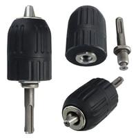 Ferramenta de mão keyless do mandril da broca do impacto de 2 13mm com fechamento e adaptador de sds Conjuntos ferramenta manual    -