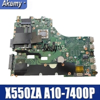 Amazoon X550ZA Laptop Moederbord Voor Asus X550ZA X550ZE X550Z X550 K550Z X555Z VM590Z Test Originele Moederbord A10-7400P Lvds Gm