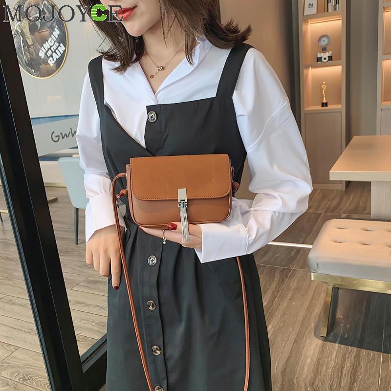 Fashion Preppy Style Shoulder Bags For Women Tassel Female Messenger Bag Girl's Small Crossbody Bag