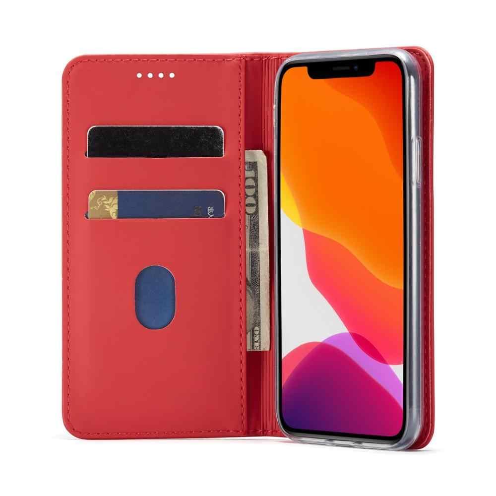Bao Da Dành Cho iPhone 6.5 6.1 5.8 2019X8 7 6 6S 6S Plus Vỏ Điện Thoại Fundas Coque Cao chất Lượng Lật Túi Ví Thẻ