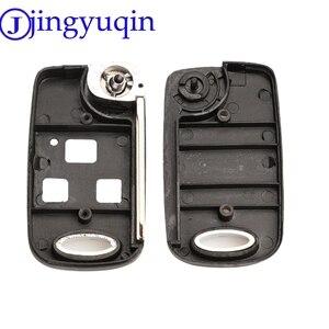 Jingyuqin дистанционный Складной флип-чехол для ключа автомобиля для Toyota Yaris Carina Corolla Avensis чехол Toy43 Toy47 Toy48 с кнопками