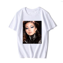 Fashion Design 3D Printed T Shirt Xiao Wen Ju Model casual black white WomenS Crew Neck Short-Sleeve Printing Machine Shirts