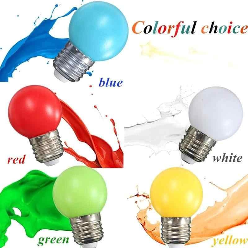 Led の色電球 G45 屋外防水カラフルな馬小バブルライトランプ卸売電球幸運クリスマス装飾 co G2B6