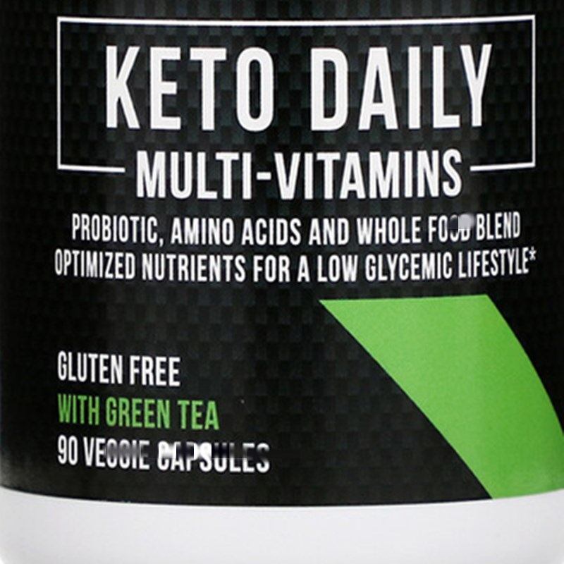 Ketogenic multivitamin,contain green tea ingredients, 90 pieces