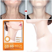 BIOAQUA 1pcs Neck Mask Skin care Anti wrinkle Whitening Nourishing Fir