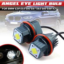 2 шт. 80 Вт без ошибок 16 светодиодсветодиодный габаритных огней Angel Eyes для BMW E39 E53 E60 E61 E63 E65 E66 E87 525i 530i xi 545i X3 M5 X5