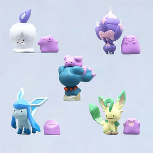 Image 2 - Cartoon Mooie Metamon Poipole Vol.7 Gashapon Pkm Action Figure Speelgoed Anime Figuur Toys Kids Gift