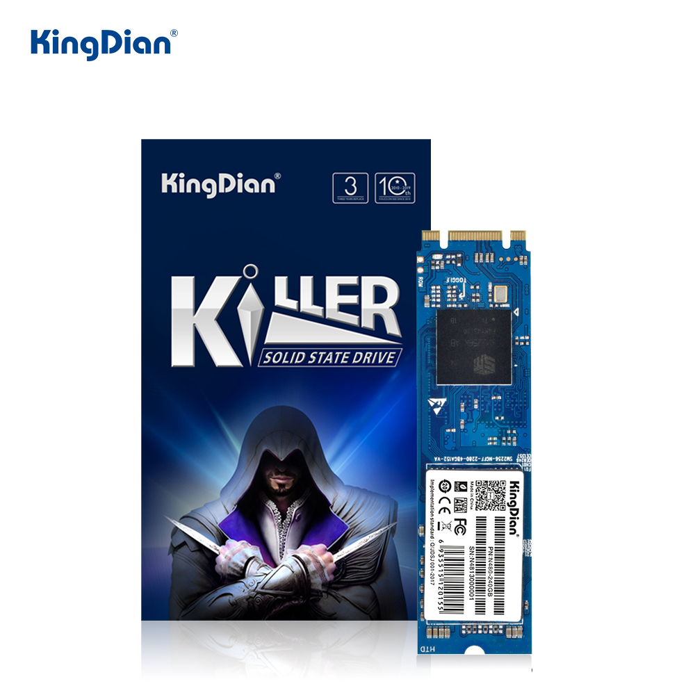 KingDian M.2 SSD 120GB 240GB SSD M2 1TB 128GB 256GB SSD SATA 512GB M.2 2280 Internal Solid State Drive For Laptop