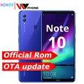 Honra Nota 10 Kirin 970 Octa núcleo Telefone Móvel Dual SIM telefone móvel 6.95 polegada Android 8.1 Fingerprint ID NFC