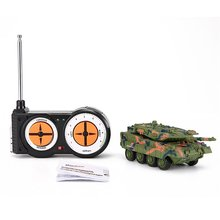 Portable Size Remote Control Mini Battle Tank Toys Land Armor Tank Car RC Military Model Toy for Kids Children Birthday Gift