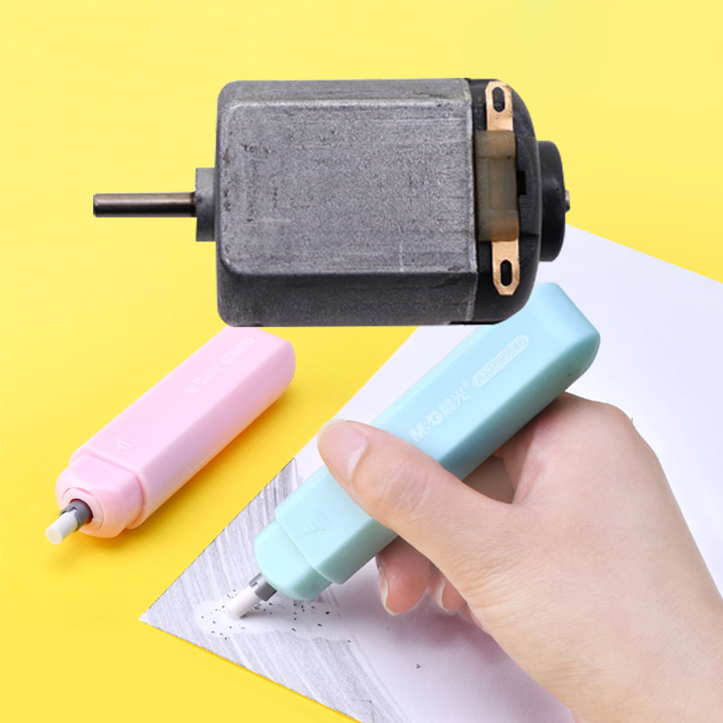 1 Pcs Electric Rubber Twist Motor 3V 130 Motor Rubber Special Motor Teaching Equipment Office Stationery Accessories