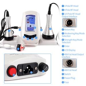 Image 5 - Multipolar RF Ultrasonic Body Slimming Machine 40K Cavitation Weight Loss Beauty Device Fat Burner Skin Tighten Anti wrinkle