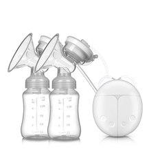 Молочный насос двухсторонний Электрический молокоотсос массаж послеродовой лактации устройство для послеродовой матери