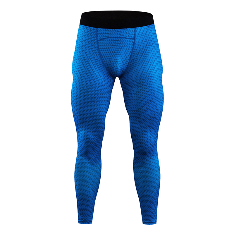 Compression Men's Leggings Quick-drying Leggings Men's Gym Track Pants Fitness Sports Tights Men's Running Pants Compression