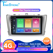 TOMOSTRONG Car Stereo Multimedia Headunit For Toyota T27 Avensis 2009-2014 Android 10 Auto Radio GPS Navigation Video