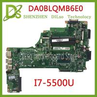KEFU DA0BLQMB6E0 REV: E Para Toshiba Satellite C55 S55 C55-C L50-C Motherboard I7-5500u A000388620 trabalho 100% original