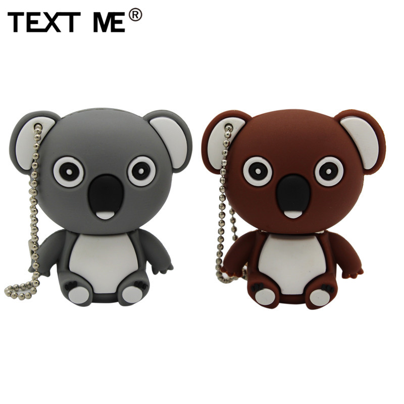 TEXT MIR cartoon tier <font><b>koala</b></font> modell usb-stick usb 2.0 4GB 8GB 16GB <font><b>32GB</b></font> 64GB kreative stick image
