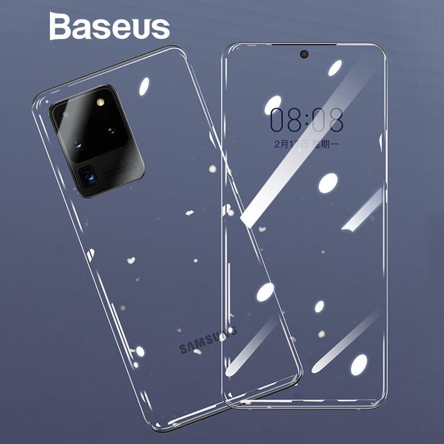 Baseus Galaxy S20 Plus Ultra 2pcs TPU Film Front Back Screen Protector