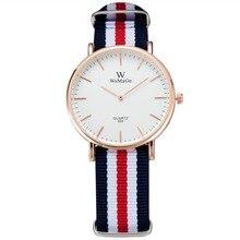 Ultra Thin Mens Watches Fashion Men Multicolor Nylon Band Quartz Watch Casual Man relogio masculino reloj hombre