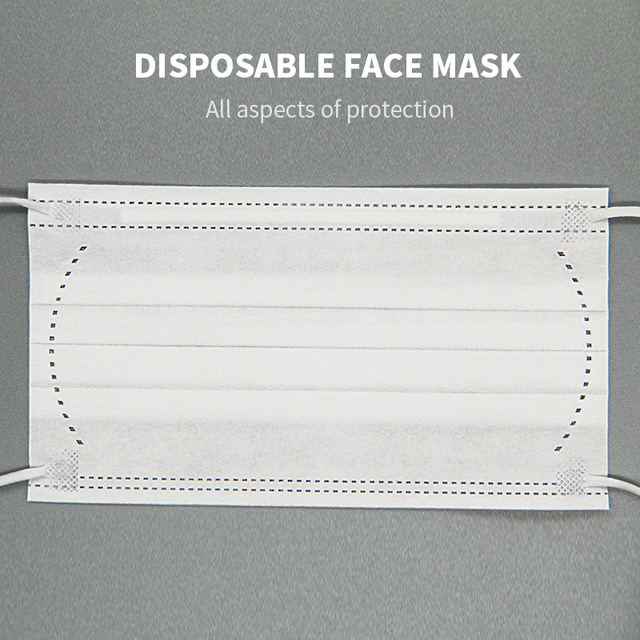 50PCS Mouth Mask Men Women Cotton Anti Dust Mask Mouth Mask Windproof Mouth-muffle Bacteria Proof Flu Face Masks In Stock 3