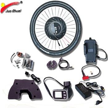 IMortor-kit de conversión de bicicleta eléctrica, cambio de buje sin escobillas, con...