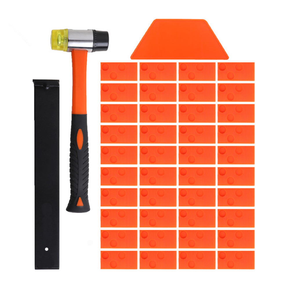 Spaces Hand Wood Julaihandsome Block Tapping Pull Tool  Flooring Bar Laminate Mallet Kit  Professional Set Installation