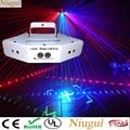Лазерный светильник с 6 объективами DMX RGB, полноцветные линии, луч с узорами, лазерный домашний, вечерние, DJ, KTV проектор, отличные эффекты, сце...
