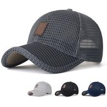Newly Men Summer Mesh Sport Baseball Cap Hat Outdoor Visor Sun Protection Cap S66