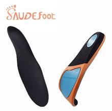 Saudefoot נעל מדרסים סניקרס כרית PU דעיכת דבק ultra בסדר קטיפה קליטה זיכרון קצף מוגבר גמיש רך נעל כרית